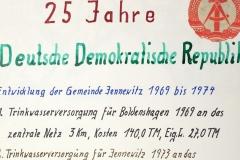 Beispiel für die Aufmachung der 1979er Chronikblätter, die im A3 Format gestaltet wurden.