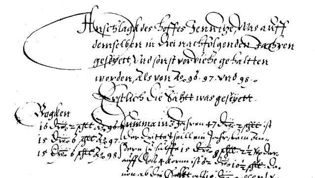 1598-Hofanschlag