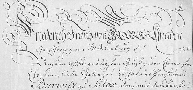 Cammeranweisung 1817